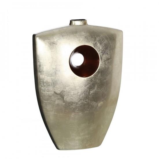 Jarrón de cerámica color champán 45 cm