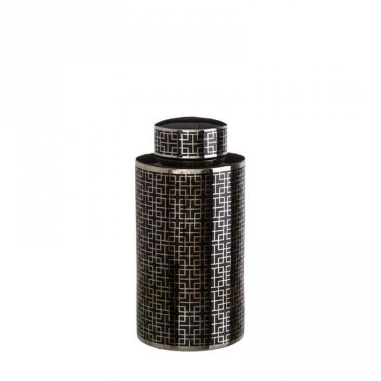 "Tibor cerámica ""monblac"" negro 47 cm"