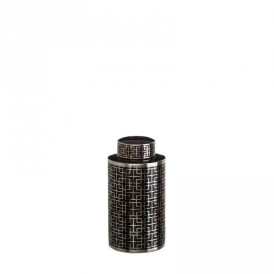 "Tibor cerámica ""monblac"" negro 32 cm"