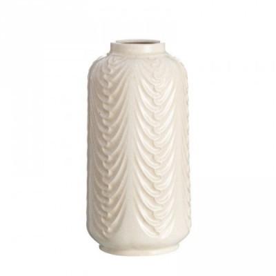 """Jarrón cerámica """"tappi"""" crema 40 cm"""