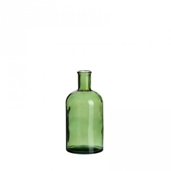 """Botella vidrio """"vetro"""" transparente 9 x 19 cm"""