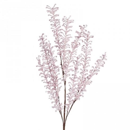 Rama floral color rosa 55 cm