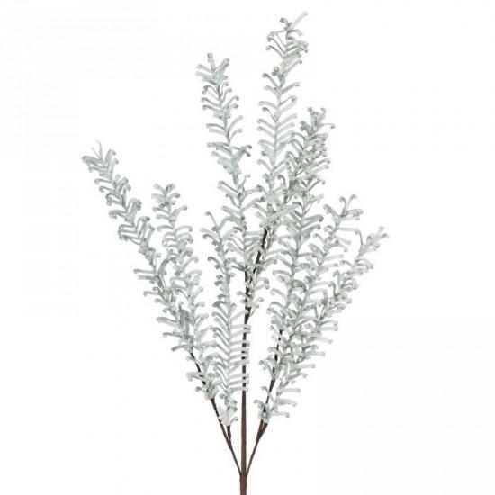 Rama floral color verde claro 55 cm