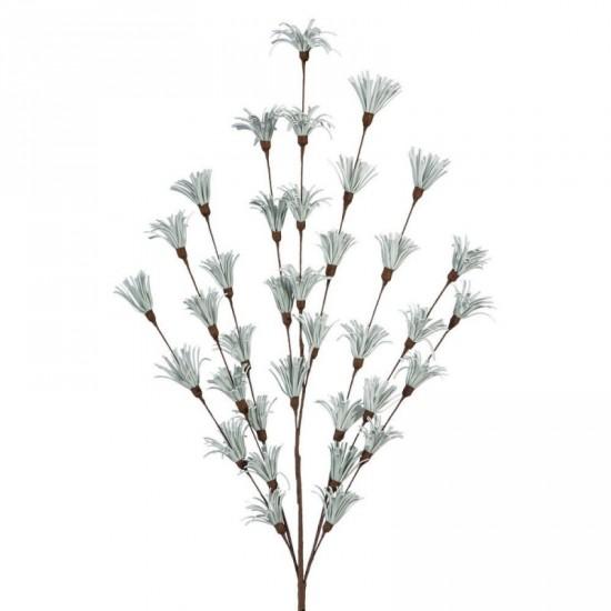 Rama floral color verde claro 51 cm