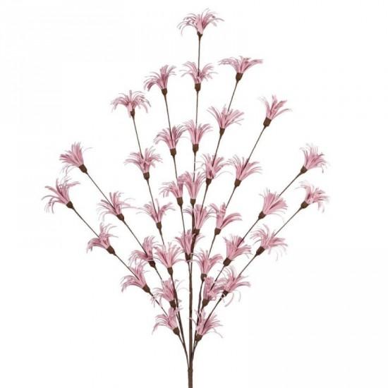 Rama floral color rosa 51 cm