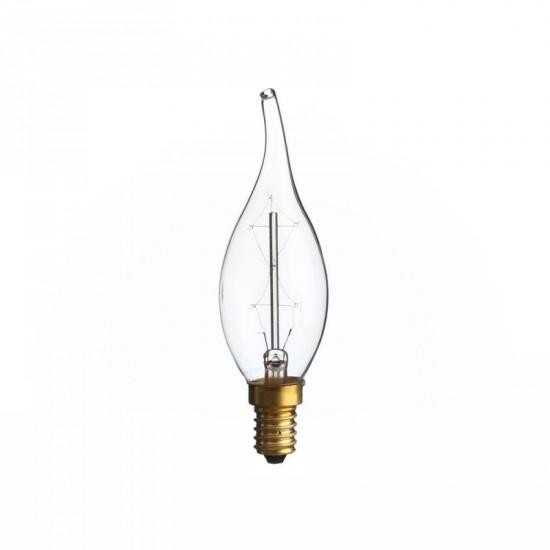 """Bombilla filamento """"Edison"""" ámbar 3.50 x 11.60 cm E14"""
