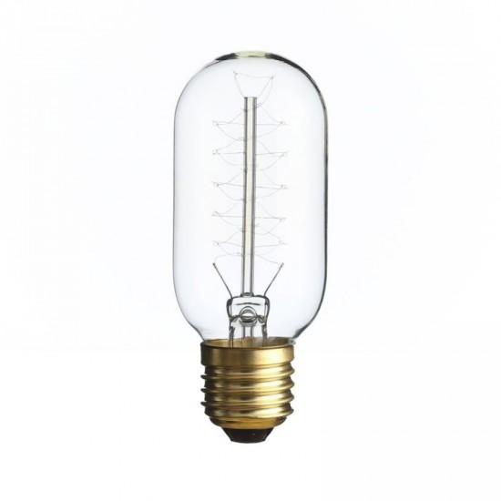 Bombilla filamento estilo Edison transparente 4.50 x 11.30 cm