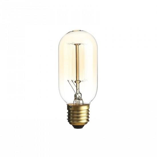 Bombilla filamento estilo Edison color ámbar 4.50 x 11.30 cm