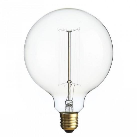 Bombilla grande filamento Edison transparente 12.50 x 17.20 cm