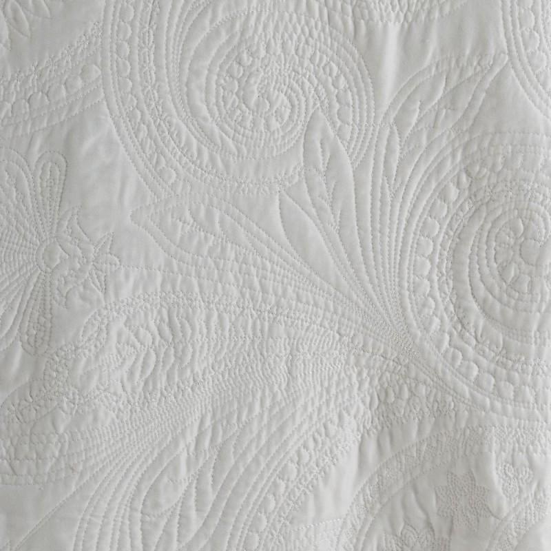 Colcha bouti bordada prime crudo 240 x 260 cm Ibele Home