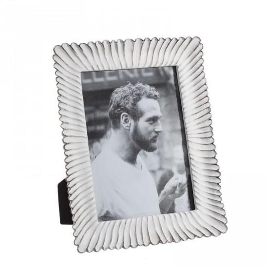 Portafotos 13x18 color blanco rozado clams