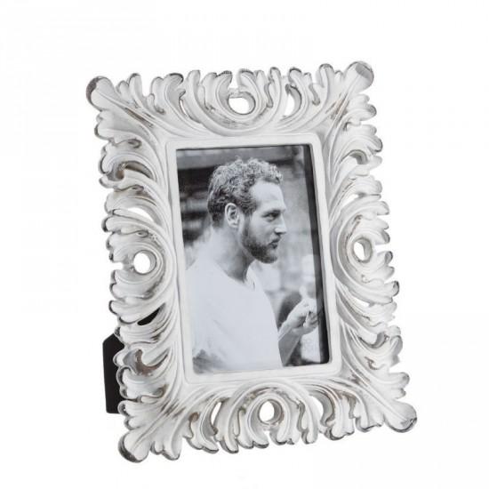 Portafotos 10x15 color blanco rozado antiq