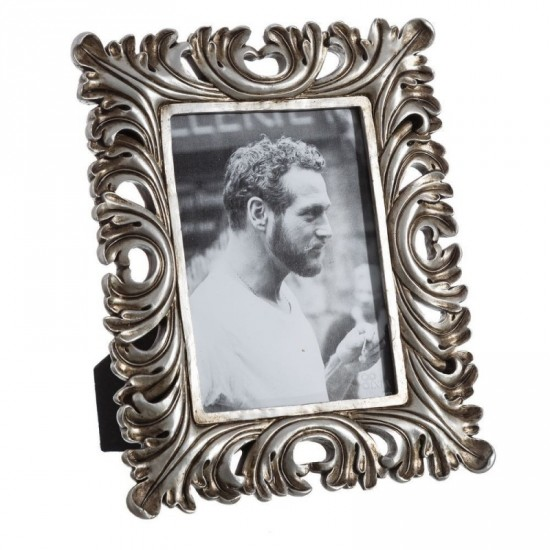 Portafotos 13x18 color plata envejecida antiq