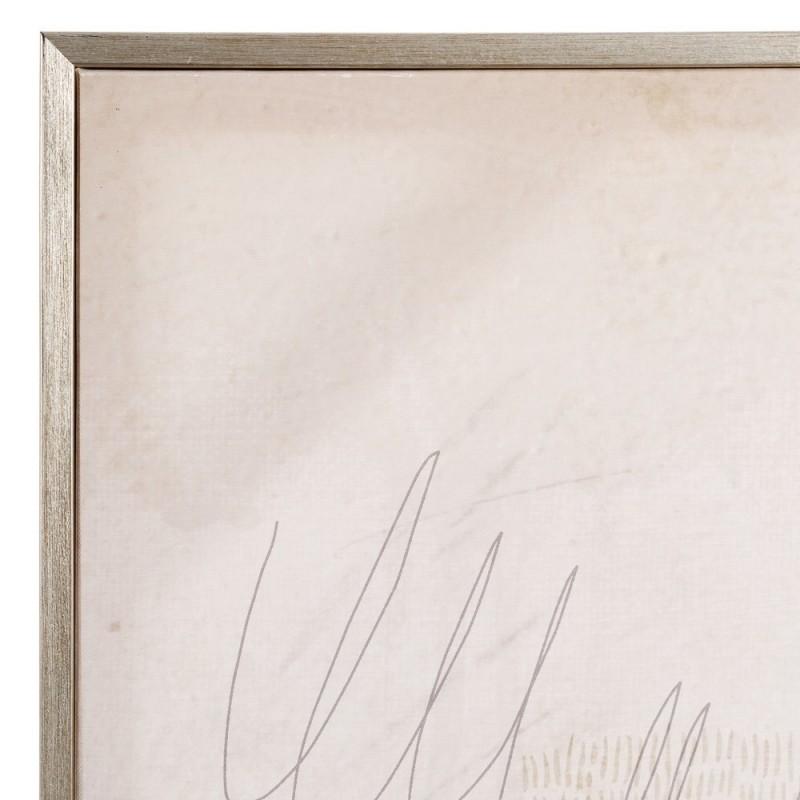 Lienzo con marco de pluma de 100 x 140 cm, decoración de salón o ...