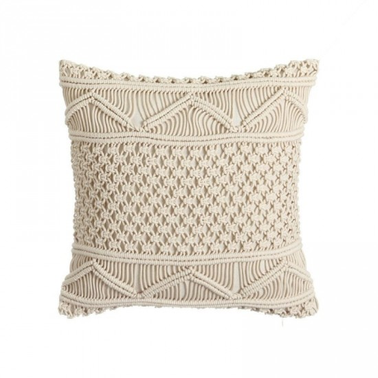 "Cojín crochet ""roma"" 45 x 45 cm"