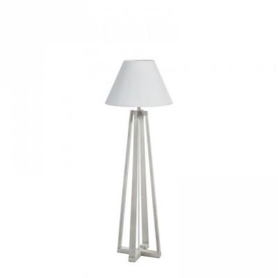 """Lámpara pie """"kadde"""" blanco rozado 120 cm"""