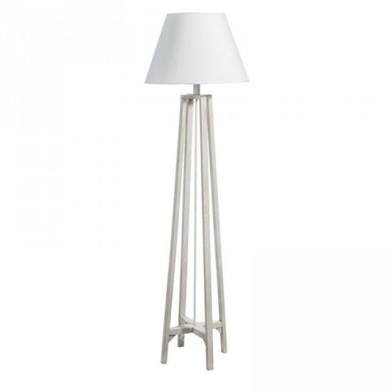 """Lámpara pie """"kadde"""" blanco rozado 156 cm"""