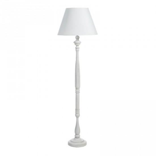 """Lámpara pie """"mobbi"""" blanco rozado 158 cm"""