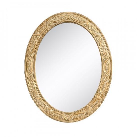 Espejo en color oro envejecido de 40 x 50 cm