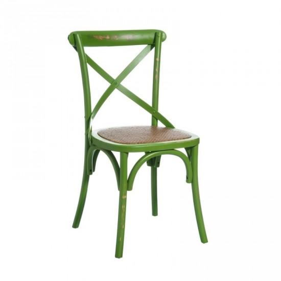 """Silla madera """"petti"""" verde"""