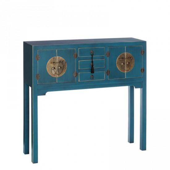 """Consola """"natile"""" azul 95 cm"""