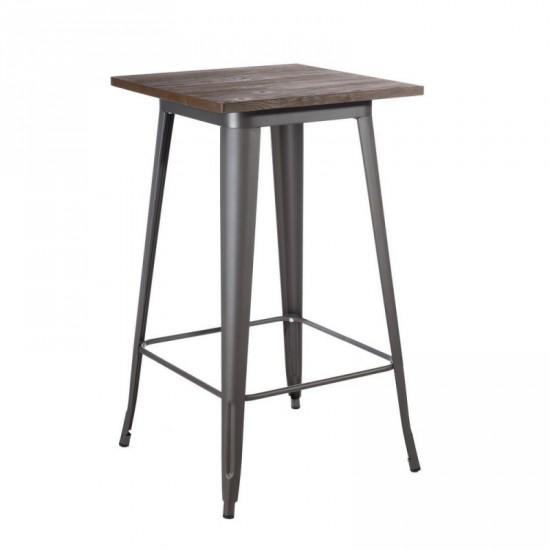 """Mesa alta """"dalia"""" gris 60 cm"""