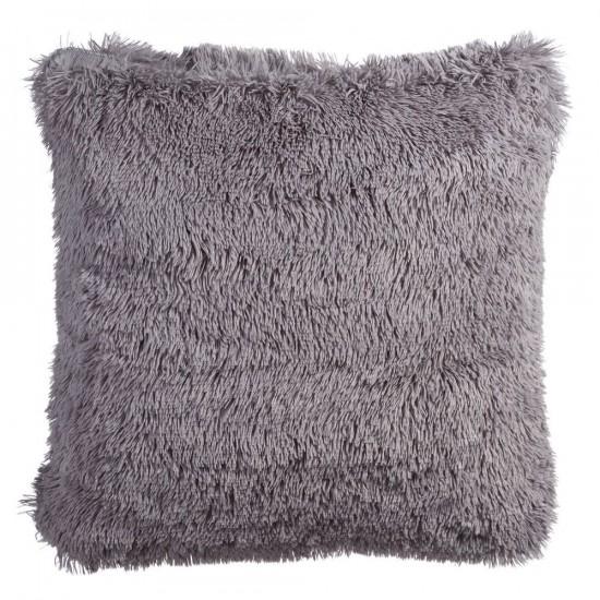 """Cojín """"delizia"""" gris 60 x 60 cm"""