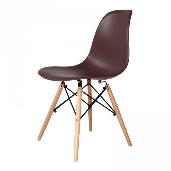 "Silla ""eames"" chocolate"