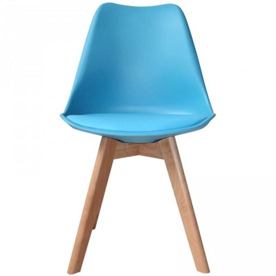 "Silla ""taby"" azul"