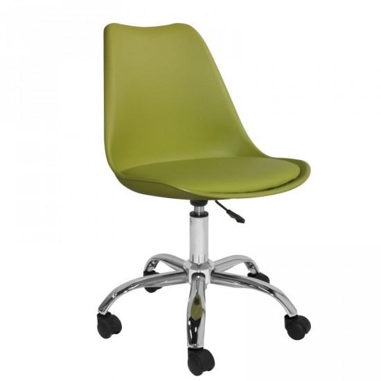 "Silla ruedas ""lanti"" verde oficina"