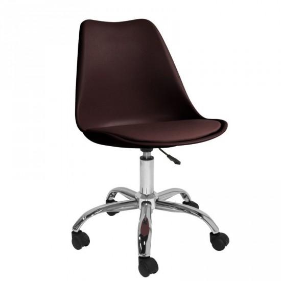 "Silla ruedas ""lanti"" marrón oficina"