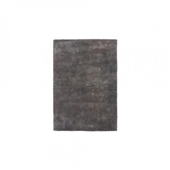 Alfombra en color plata 120 x 180 cm