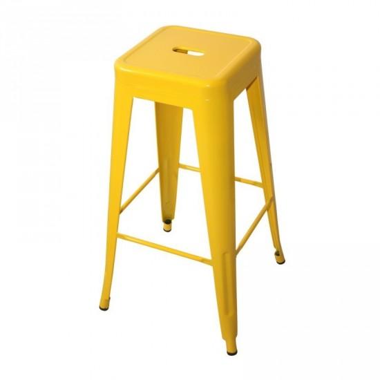 """Taburete """"volter"""" amarillo"""