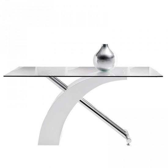"""Mesa """"concept"""" cristal 150 cm"""