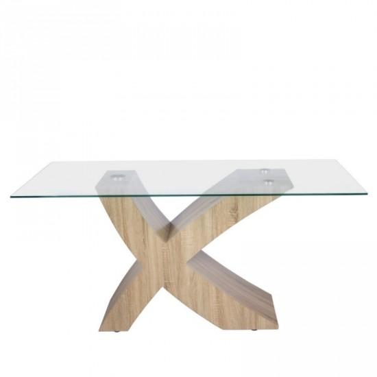 """Mesa """"concept"""" natural 160 cm"""