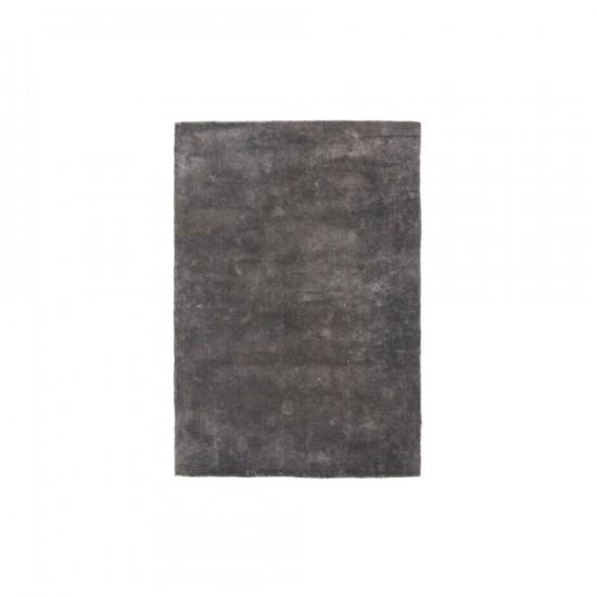 Alfombra en color plata 140 x 200 cm