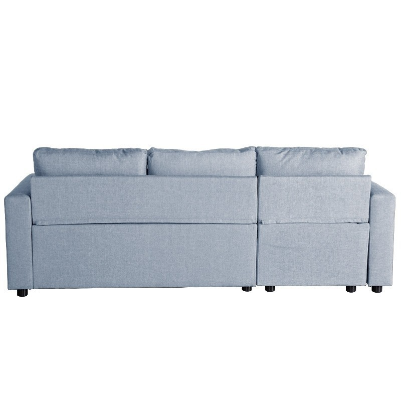 Sof cama chaise longue oslo azul ibele home for Sofas cama chaise longue