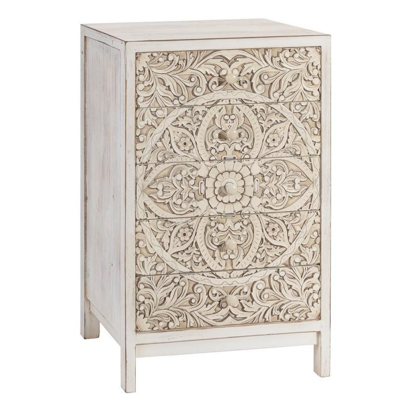 Mueble talla asab crema rozado 55 x 89 cm ibele home for Mueble 55 cm ancho