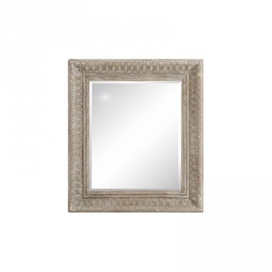 """Espejo madera """"graze"""" blanco 73 x 83 cm"""