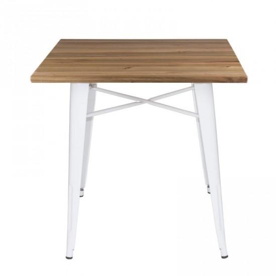 """Mesa """"volter"""" blanca 80 cm"""