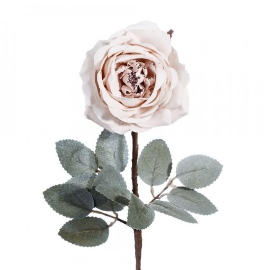 Flor rosa de color rosa de 60 cm