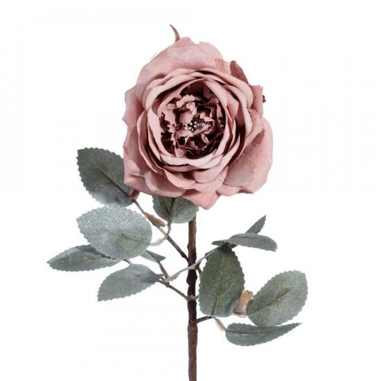 Flor rosa de color malva de 60 cm