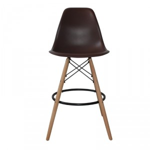 "Taburete ""eames"" chocolate"