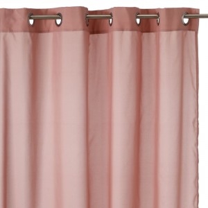 "Cortina ""prime"" color rosa palo 140 x 260 cm"